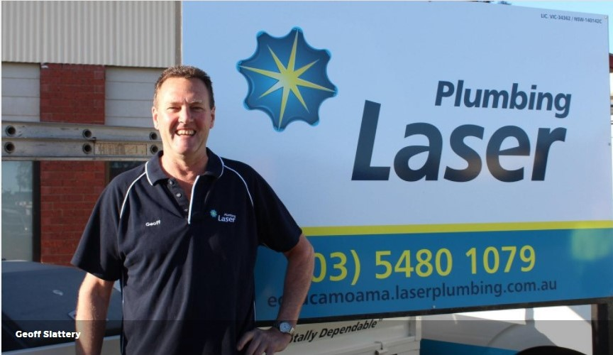 GMS Plumbing becomes Laser Plumbing